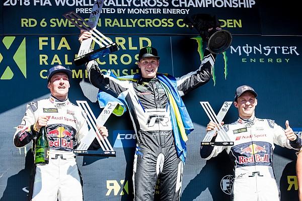 World Rallycross Race report Sweden World RX: Kristoffersson scores third straight win