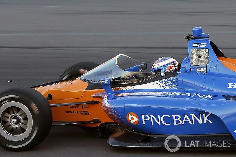 IndyCar aeroscreen makes track testing debut at Phoenix