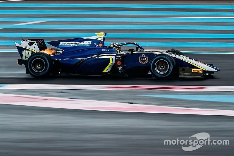 F2 Paul Ricard testi: İlk günün lideri Norris