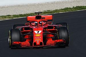 Formula 1 Testing report Raikkonen tops final morning, McLaren in trouble again