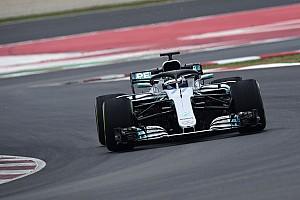 Fórmula 1 Noticias Hamilton sacrificó tiempo en pista con Mercedes