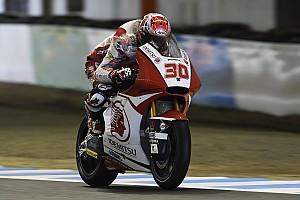 Moto2 レースレポート Moto2もてぎ決勝:中上、終盤失速し6位。マルケス優勝。榎戸も入賞