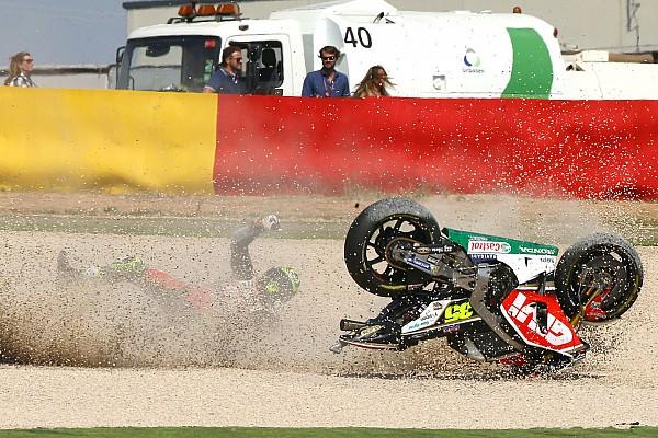 MotoGP Un levier de frein récalcitrant a envoyé Crutchlow au tapis