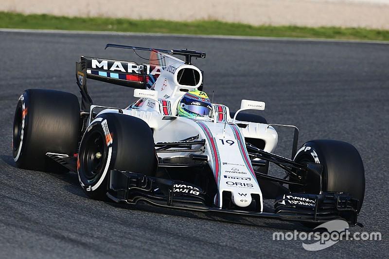 Williams en Haas testen met T-wing