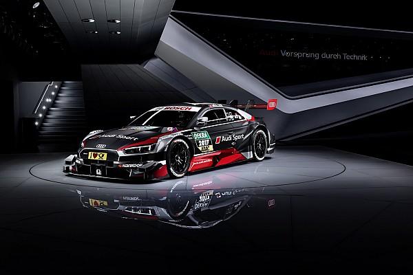 DTM Noticias de última hora Audi reveló su nuevo coche para el DTM 2017