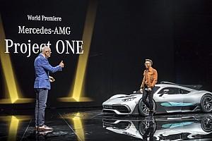 Autó Motorsport.com hírek Lewis Hamilton kapja az első Mercedes-AMG Project ONE-t