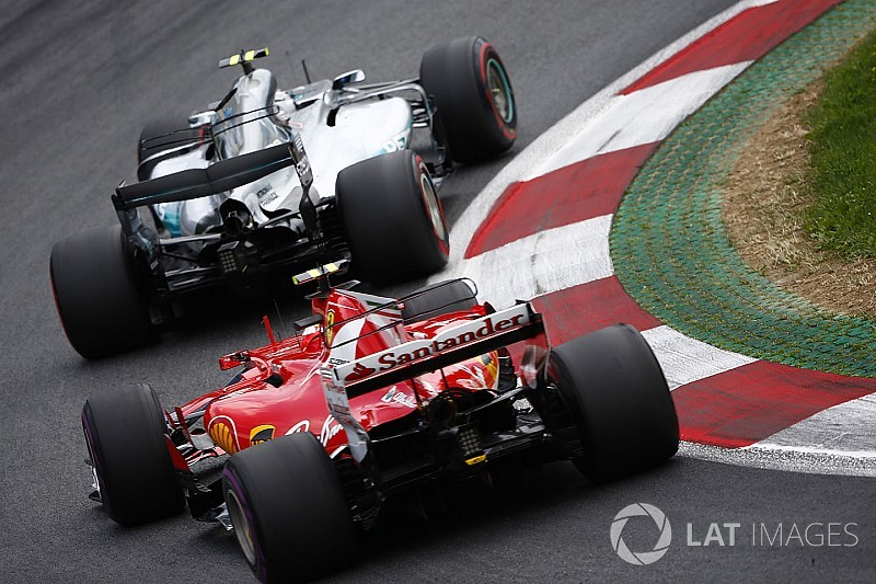 Технический анализ: решающие детали в битве Mercedes и Ferrari