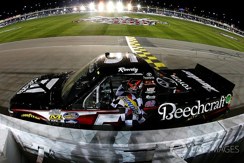 Kyle Busch will again run limited NASCAR Truck schedule in 2018