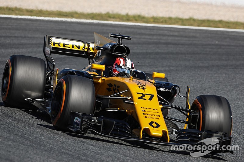 Hulkenberg dice que a Renault lo perjudicó el viento
