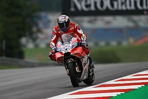 MotoGP フリー走行レポート 【MotoGP】豪雨後のオーストリアFP2、トップはドビツィオーゾ