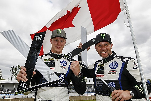World Rallycross Comment Kristoffersson affole les records en World RX