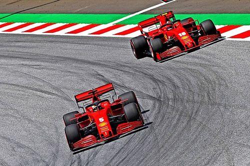 """Vettel: """"Dürüst olmam gerekirse, sadece bir kez spin attığım için mutluyum!"""""""
