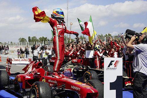 Subastan benéficamente un mono de Alonso de Ferrari