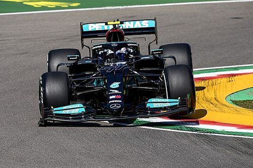 Emilia Romagna GP: Bottas leads Hamilton in disrupted FP1