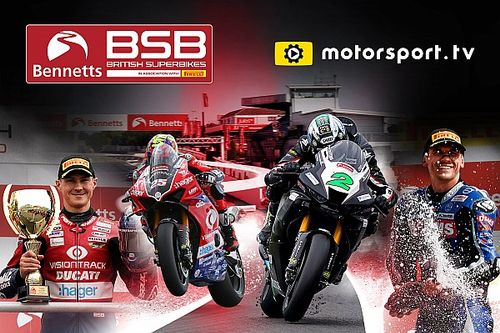 Bennetts British Superbike Championship lanza canal dedicado en Motorsport.tv