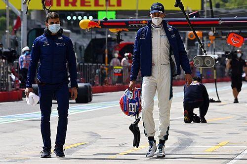 """Russell sufrió un """"Pastor Maldonado"""" en la clasificación de Imola"""