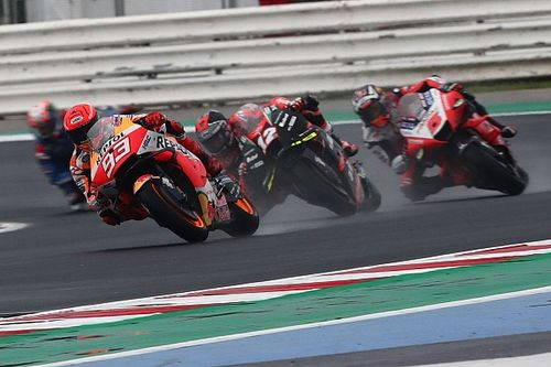 Márquez: no estoy para ganar ni para obtener un podio