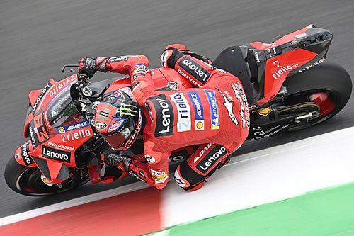 MotoGP, Misano, Libere 3: Bagnaia di un soffio su Quartararo