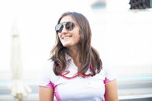 Calderón devient la première femme à courir en Super Formula