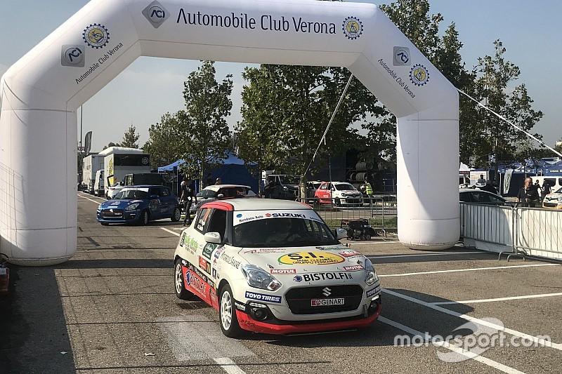 Suzuki Rally Trophy, PS1: prova annullata per il brutto crash di Pollara