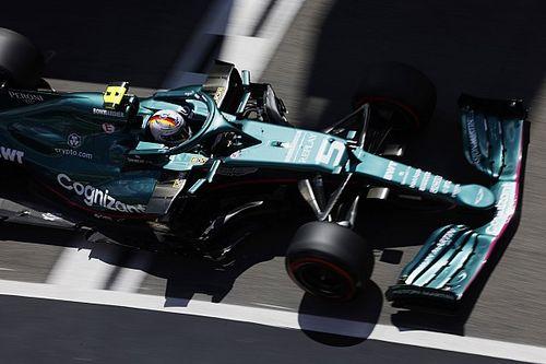Vettel tendrá las mejoras de Aston Martin en Barcelona
