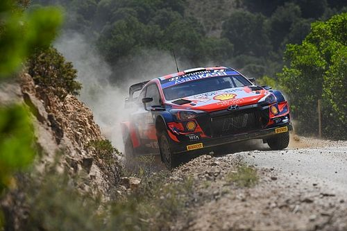 Italy WRC: Tanak holds comfortable lead from Sordo