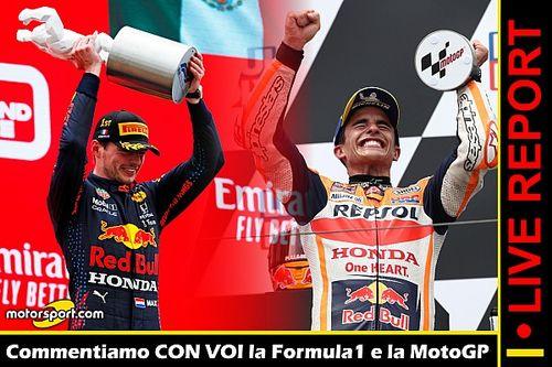 Report LIVE: Verstappen e Marquez, dominatori della domenica