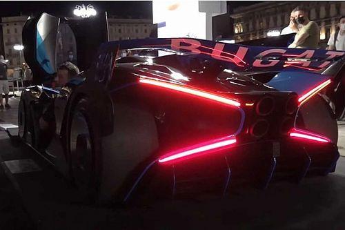Füleket befogni: először szerepelt nyilvánosan a Bugatti Bolide