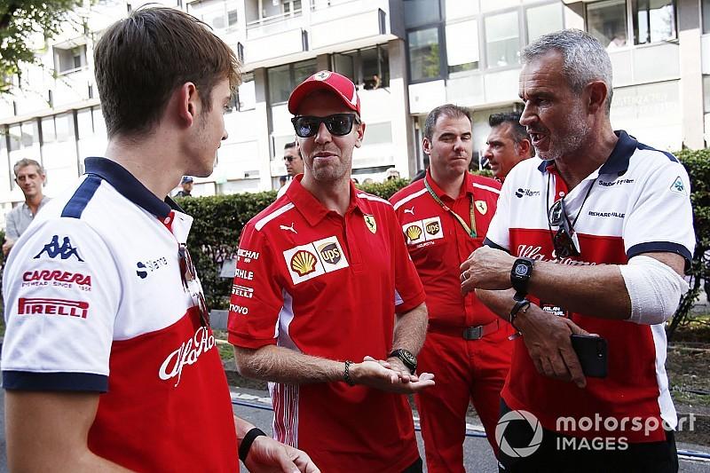 Vettel: 2019'da Leclerc'le birlikte hareket etmeliyiz
