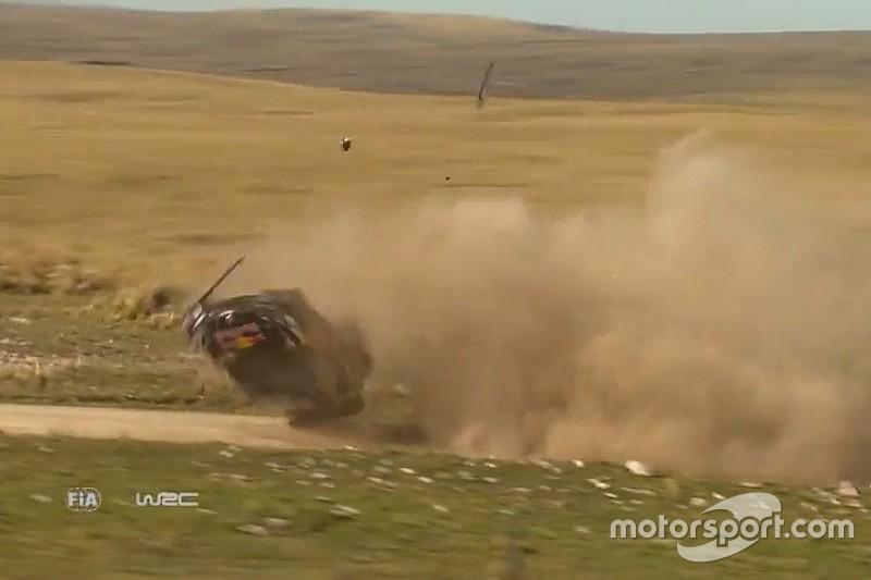 Video: Jari-Matti Latvala mit dreifachem Überschlag bei Rallye Argentinien