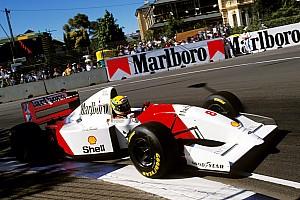 F1 Noticias Motorsport.com Subastarán el McLaren MP4/8A que condujo Senna en 1993