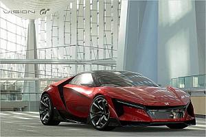 Automotive News Honda Sports Vision GT: Ein digitaler Baby-NSX