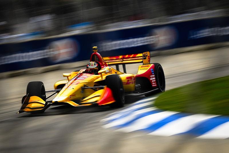 IndyCar у Детройті: Хантер-Рей здобув першу перемогу із 2015-го