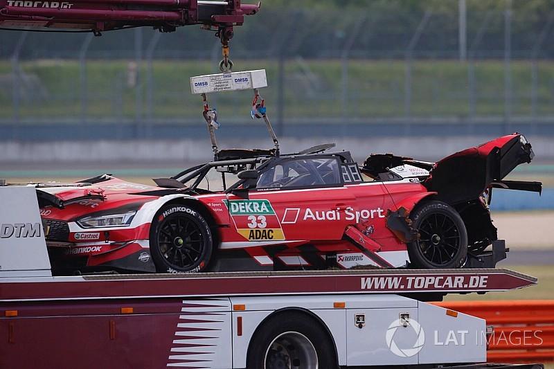 En images : l'impressionnant crash de René Rast en DTM