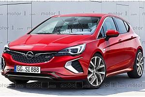 OTOMOBİL Son dakika 2018 Opel Astra GSi muhtemelen böyle olacak