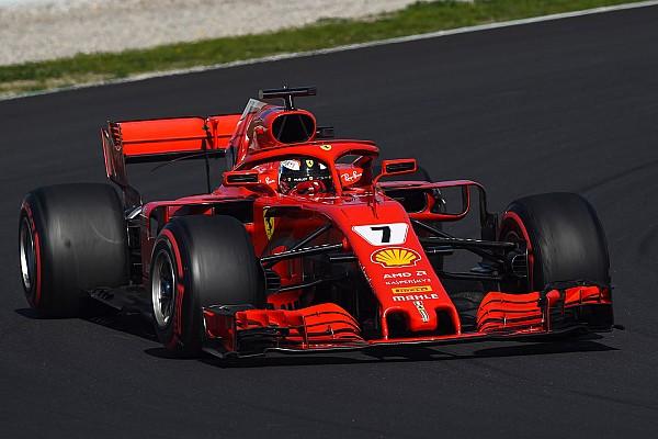 Raikkonen zet Ferrari ook op laatste testdag bovenaan