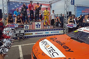 NASCAR Euro Special feature Promoted: Ercoli wins NASCAR GP UK after testing VEXATEC agility shirt