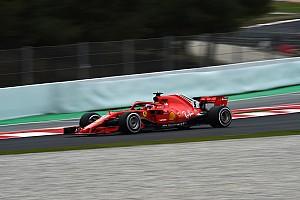 Fórmula 1 Crónica de test La nieve y Vettel protagonizaron la segunda jornada de test