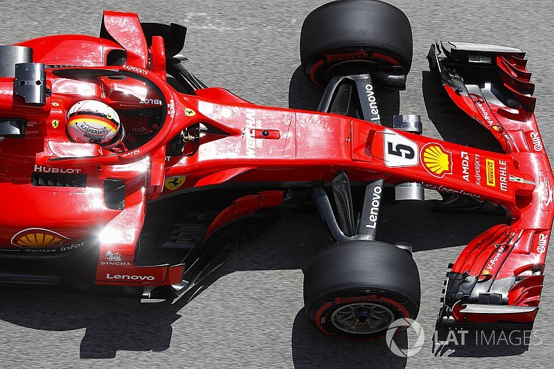 "Vettel: Formula 1's aero rules flip-flopping is ""comical"""