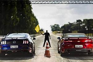 Comparativo exclusivo: Novo Camaro já encara o Mustang!