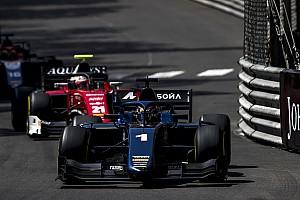 FIA F2 Race report Monaco F2: Markelov wins after Albon, de Vries collide