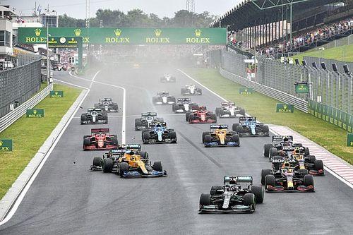 Bottas causa un accidente que complica a Verstappen y retira a Pérez en Hungría