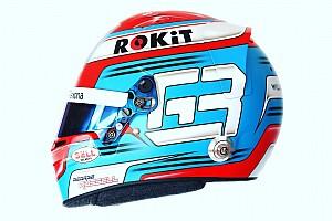 Russell, 2019 sezonunda yarışacağı yeni kaskı tanıttı