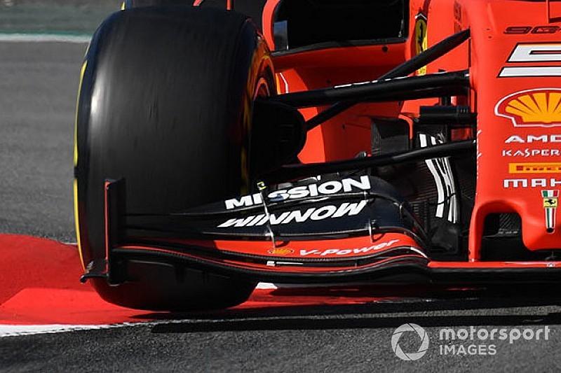 Vettel dominates first morning of 2019 F1 testing