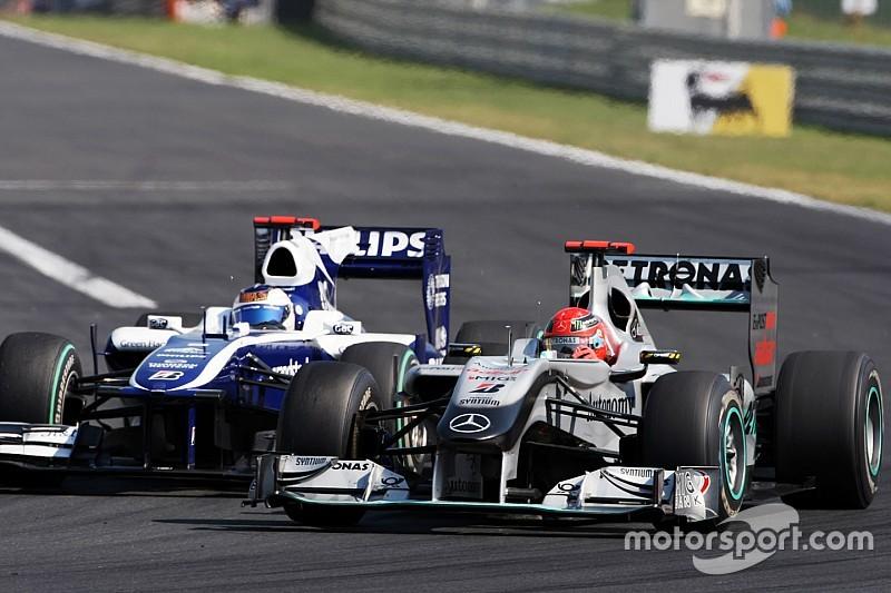In beeld: Alle Formule 1-wagens van het huidige Mercedes-team
