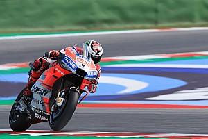 MotoGP San Marino: Lorenzo pole, Marquez terjatuh