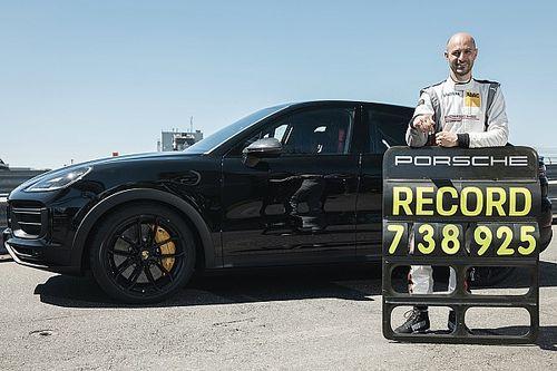 La Porsche Cayenne Coupé si prende il record del Nurburgring