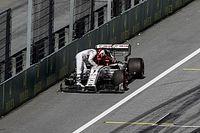 VIDEO: Cómo Raikkonen perdió un neumático en el GP de Austria