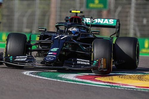"Bottas ""had the shakes"" after Imola pole lap"