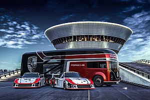 Porsche Transporter Concept is the only way to move your new 935